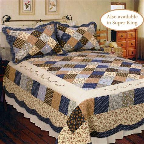patchwork bedding williamsburg cotton patchwork quilt bedding