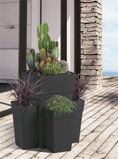 vasi alti per piante vasi per piante da esterno vasi in resina da esterno