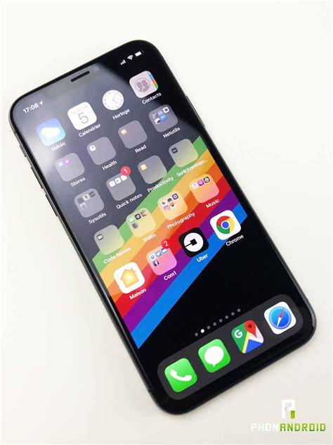 test iphone x notre prise en du smartphone le plus cher du monde