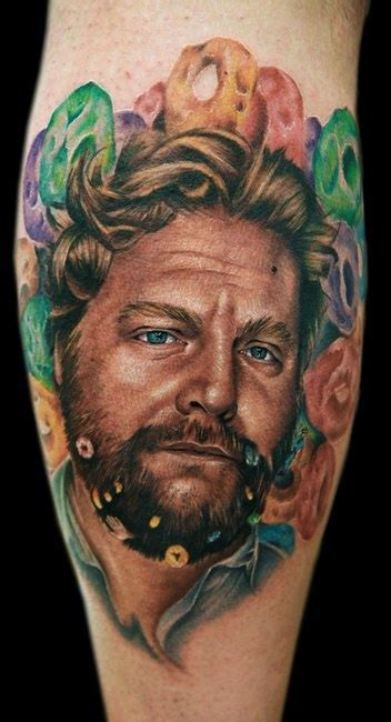 song lyrics tattoo zach galifianakis 121 best tattoo portraits images on pinterest portraits