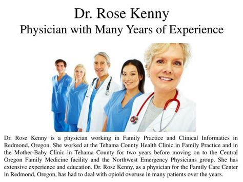 How Many Years Of Experience Before Mba by Ppt Dr Kenny An Physician With Many Years Of