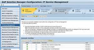 configuration and administration of itsm sap it service