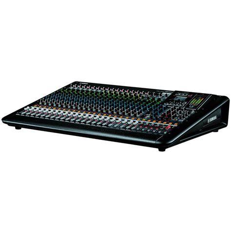 Mixer Yamaha 24 Ch yamaha mgp24x 24 channel mixing console analogue mixers