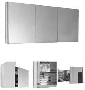 wide medicine cabinet fresca 60 quot wide bathroom medicine cabinet modern