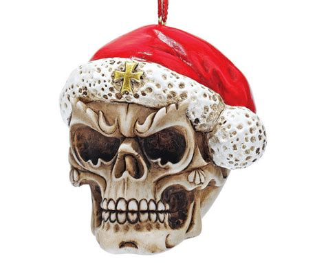 rock music and heavy metal christmas ornaments and
