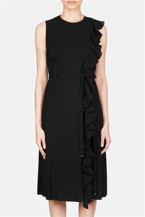Fashion Vs 0021 lavinia dress black the line