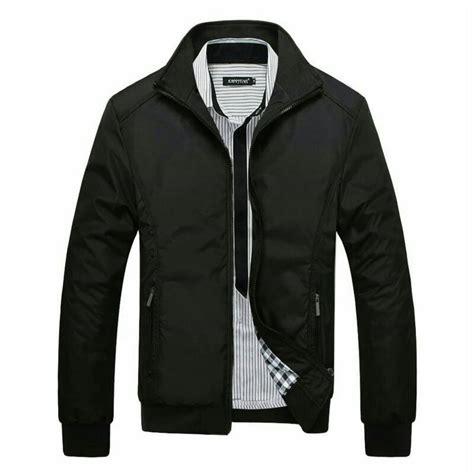 Kaos Pria Black Simple jaket bomber inv black simple elevenia
