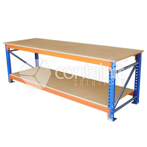Pallet Rack Workbench by Pallet Rack Workbench Containit Solutions