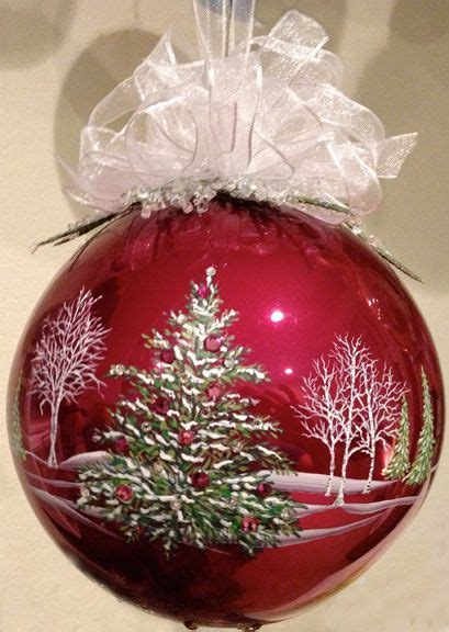 5 quot hand painted glass ornament by mickey baxter spade