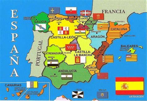 libro andalusia regional map 578 descubriendo en primaria comunidades aut 211 nomas y sus banderas