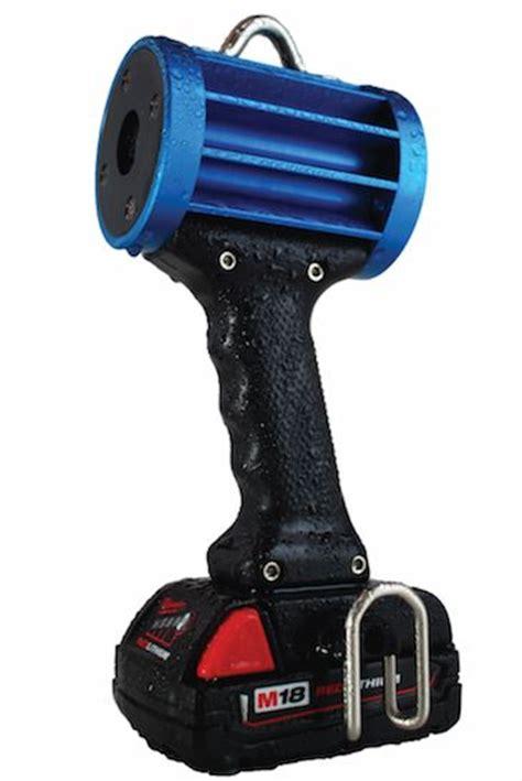 Nomadic L For Portable Light by C4 Nomad Glo Black Led Uv A Inspection Light 18v