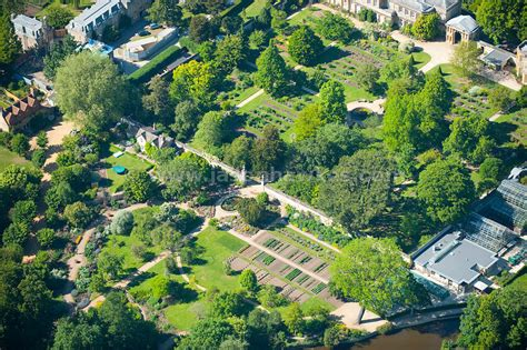 Botanic Garden View Aerial View Aerial View Of Of Oxford Botanic Garden Jason Hawkes