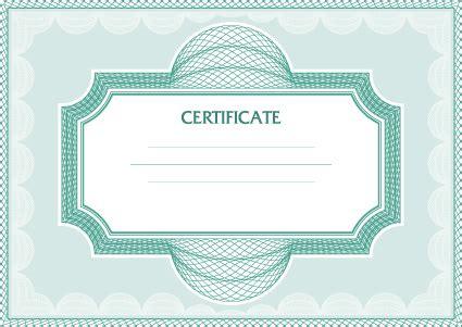 certificate design sle photoshop vector certificate template design art free vector in