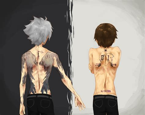 evangelion tattoo tats by itsumik on deviantart