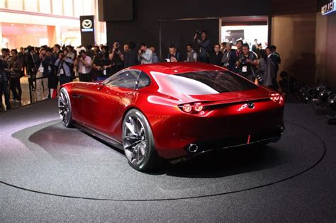 Mazda Rx Vision by Mazda Rx Vision Concept การกล บมาของข มกำล งโรตาร