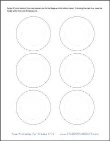 button templates free printable template for 2 1 4 inch buttons student