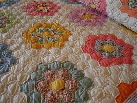 Grandmother Flower Garden Quilt by Grandmother S Flower Garden Quilt Flickr Photo