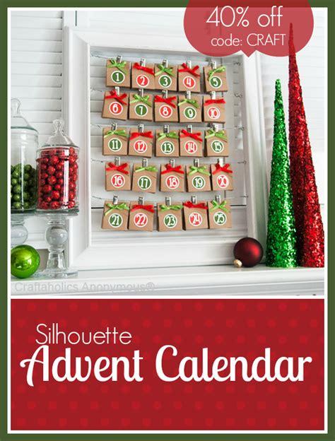 Discount Advent Calendars Craftaholics Anonymous 174 Silhouette Advent Calendar Discount