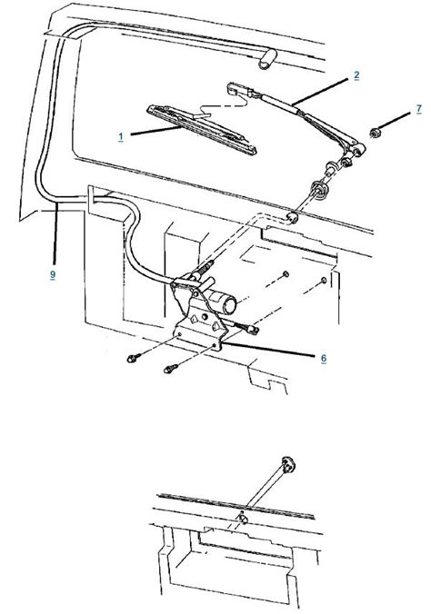 jeep yj rear wiper wiring diagram wiring diagrams