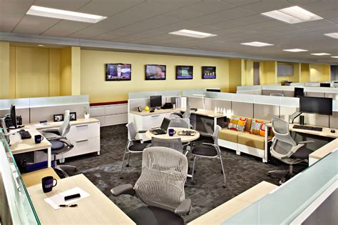 Leeco Steel Open Office Space