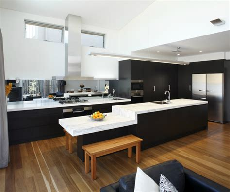 Breakfast Bar Kitchen Island by Modern Kitchen Showcase Just Kitchens Sydney