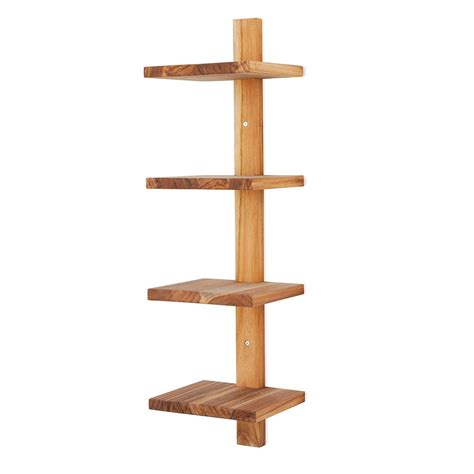minimalist shelf minimalist teak wall shelf for the home wall
