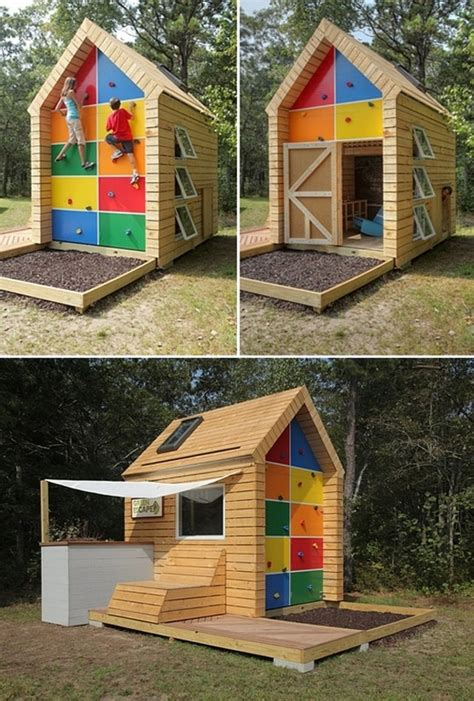 cool tiny house ideas one wacky playhouse tiny house shed office potential