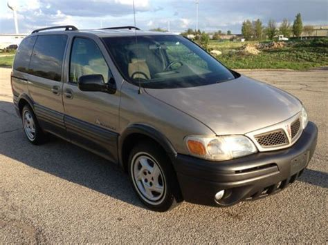 how it works cars 2004 pontiac montana electronic valve timing find used 2004 pontiac montana in new lenox illinois united states for us 3 995 00