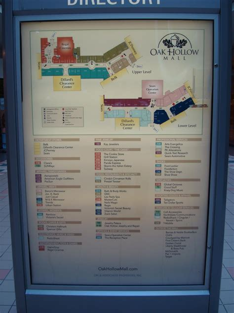 hanes mall map sky city southern and mid atlantic retail history oak hollow mall high point nc