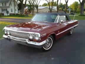 1963 Chevrolet Impala Convertible 1963 Chevrolet Impala Ss Convertible 132796