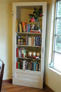 turn an door into a bookshelf crafts and diy