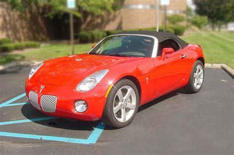 2006 pontiac solstice tire size 2006 pontiac solstice convertible 75086