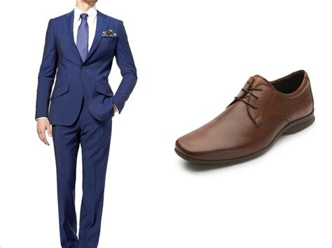 dark blue suit with brown shoes mens suits tips