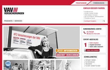 Kfz Versicherung Berechnen Wien vav versicherung online berechnen und vergleichen