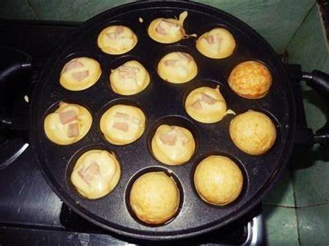 Takoyaki 19 Lubang cetakan kue takoyaki dan lobayaki bulat 15 19 lubang