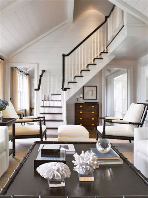 nantucket living room inspiration great room living the wood stair treads and nantucket