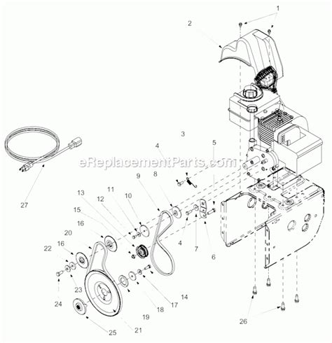 yardman snowblower parts diagram mtd snow thrower parts diagram automotive parts diagram