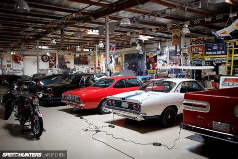 Leno Garage Tour by Garage Awesome Leno S Garage Designs Leno S