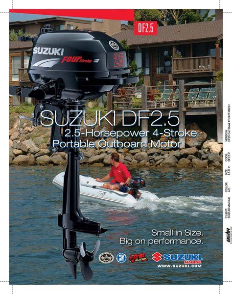 Suzuki Df2 5 Manual Suzuki Df2 5 User Manual 2 Pages Original Mode