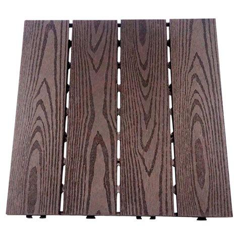 Materiaux Composite Pour Patio by Tuile 224 Patio En Composite 12 X 12 Quot Boite De 10 Caf 233