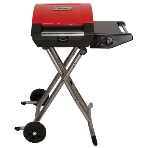 coleman 1 burner portable propane gas grill in