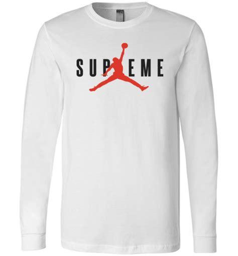 Longsleev Kaos Supreme supreme basketball sleeve t shirt teeflat