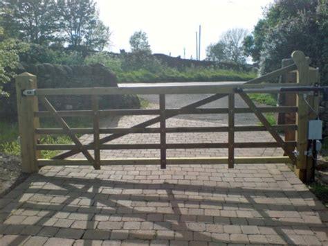 swinging gate farm electric gates shop 5 bar gates single farm gate