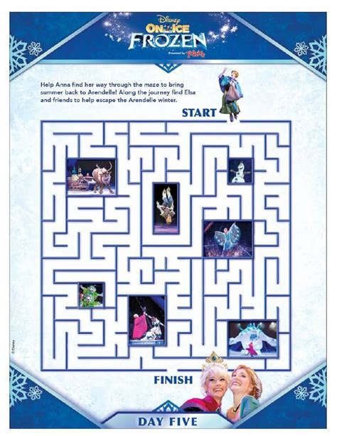 birthday coloring sheets disney frozen activity pages from disney on ice