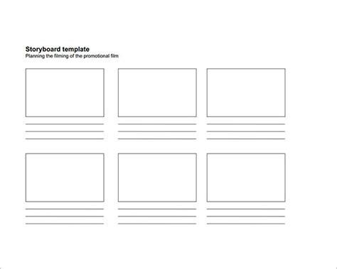 Sle Storyboard Template 15 Free Documents Download In Pdf Word Ppt Story Template Pdf