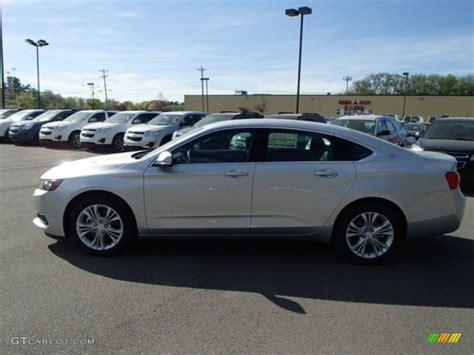 impala silver 2014 silver metallic chevrolet impala lt 80677563