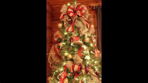 how to decorate with wide ribbon on xmas trees how to decorate a wonderful tree easy diy
