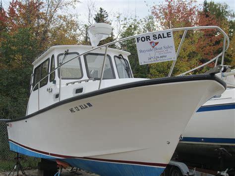 fiberglass lobster boats for sale 2005 eastern 27 downeast lobster power boat for sale www