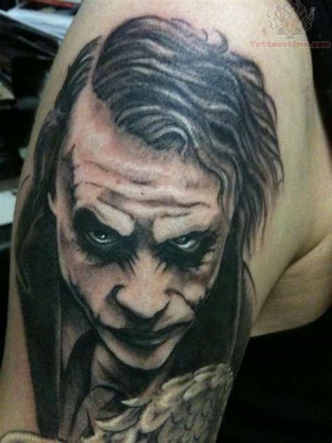 joker tattoo designs black white joker black and white