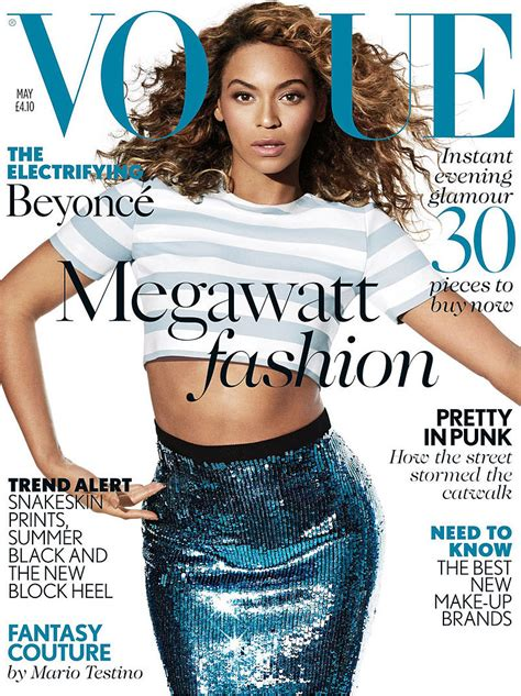 Beyonce On The Cover Of by May 2013 Fashion Magazine Covers Pictures Popsugar Fashion